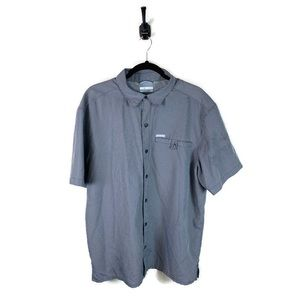 Columbia | Button Down Shirt Size Large Gray EUC